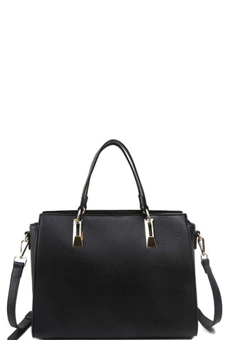Modern Chic Stylish Satchel With Long Strap