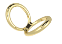 Double Love Ring - Vancelette Global Art Acquisitions