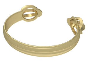 Isis Bracelet 18kt Gold | Open Skies - Vancelette Global Art Acquisitions