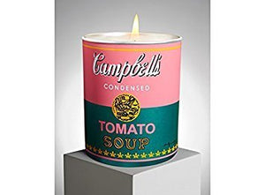 "Andy Warhol ""Campbell"" Candle (Pink/Green) - Vancelette Global Art Acquisitions"