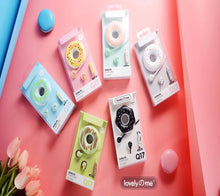 VS Pick | Cute Donut Portable Earphones ~ Gluten-free and Sugar free haha! - Vancelette Global Art Acquisitions