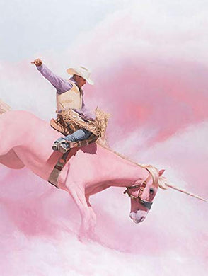 "ARTXPUZZLES - Artist Will Cotton Title: Cotton Candy Cowboy Jigsaw Puzzle Size: (Vertical) 24"" x 18"