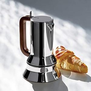 Alessi 9090/6 Stovetop Espresso Coffee Maker 6 Cup - Vancelette Global Art Acquisitions