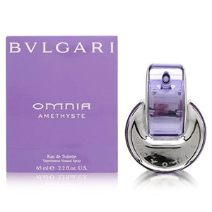 Bvlgari Omnia Amethyste By Bvlgari For Women Eau De Toilette Spray, 2.2-Ounces - Vancelette Global Art Acquisitions