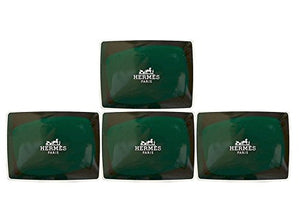 Four (4) Luxury Hermes d'Orange Verte Gift Soaps From Hermes Paris 3.5oz / 100g Perfumed Soaps / Savons Parfume - Vancelette Global Art Acquisitions