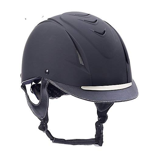 Ovation Unisex Z-6 Elite Riding Helmet, Black, Small/Medium - Vancelette Global Art Acquisitions