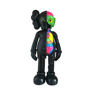 "Original Companion Model Art Toys 8""Height Explosion Head Anatomy Doll Collectible Action with Colored Package (Black) - Vancelette Global Art Acquisitions"