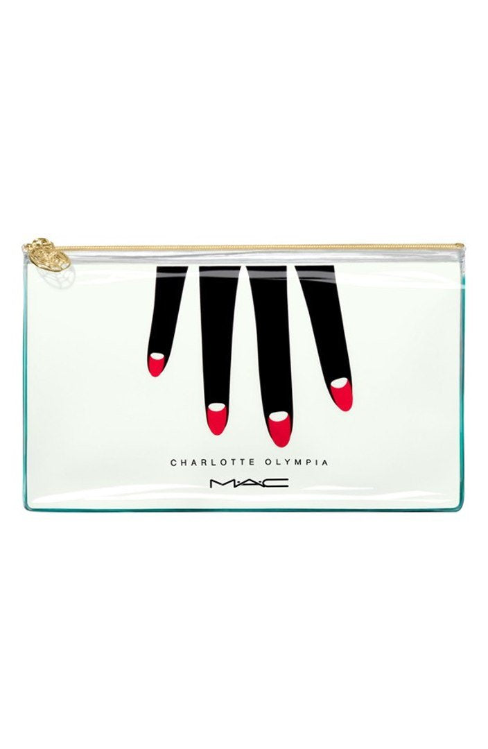 Charlotte Olympia Collection Makeup Bag - Vancelette Global Art Acquisitions