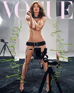 Vogue Italia Magazine (August 2019) Stephanie Seymour Cover