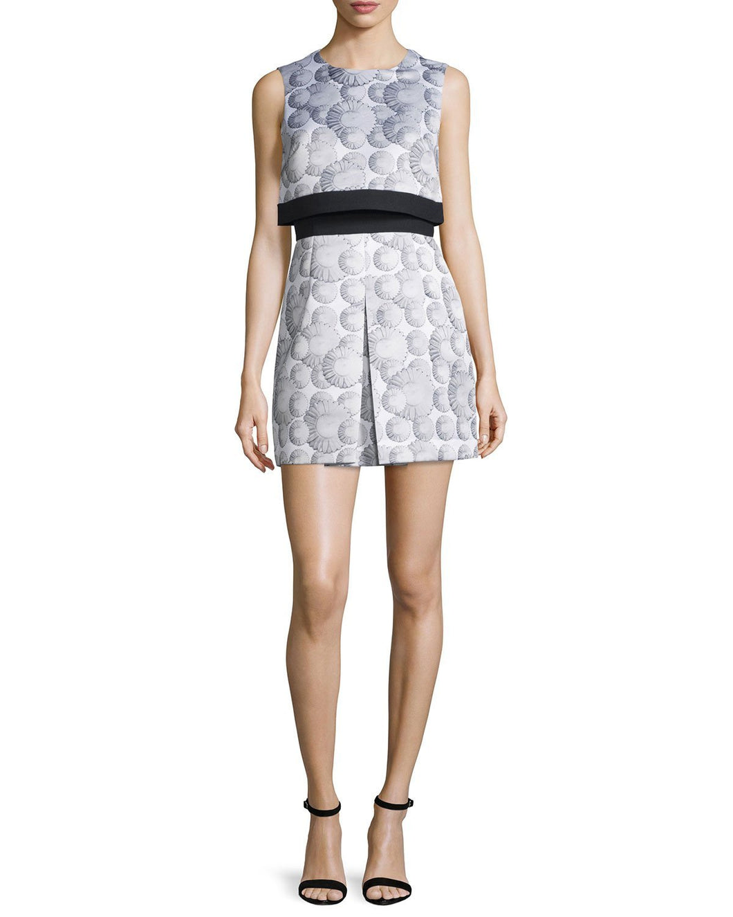 Cynthia Rowley Sleeveless Printed Popover Dress - Vancelette Global Art Acquisitions