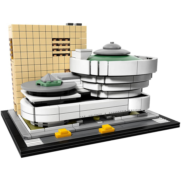 LEGO Architecture Solomon R. Guggenheim Museum Building Kit - Vancelette Global Art Acquisitions