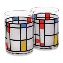 Mondrian Water/Juice Glass