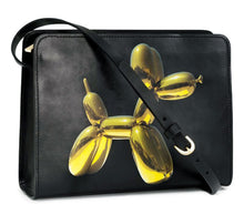 H&M and Jeff Koons Collab Leather BALLOON DOG PURSE NWT - Vancelette Global Art Acquisitions