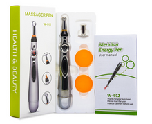 VP Pick | Wellness | Electric Acupuncture Pen Electronic Meridian Energy Body Massager Pain Relief Therapy Instrument massage relaxation - Vancelette Global Art Acquisitions