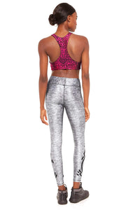 Terez x Keith Haring Leggings (Uplifted Heart Tall Band, Medium) - Vancelette Global Art Acquisitions