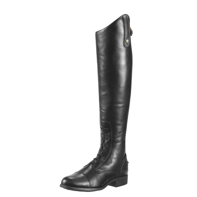 ARIAT Women's Heritage Contour Field Zip Tall Riding Boot Black Size 6 B/Medium - Vancelette Global Art Acquisitions