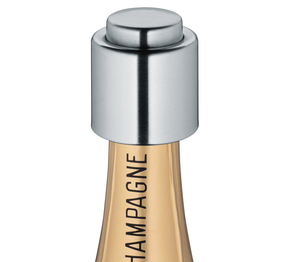 Cilio 18/10 Stainless Steel Champagne Sealer - Vancelette Global Art Acquisitions