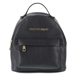 Christian Siriano for Payless Black Women's Sofia Mini Backpack one size Regular - Vancelette Global Art Acquisitions
