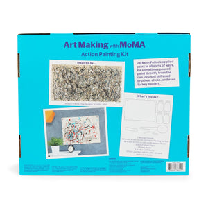 Art Making with MoMA: Action Painting Kit - Vancelette Global Art Acquisitions