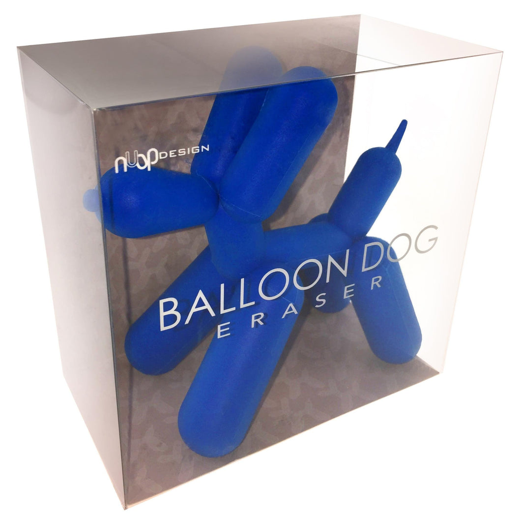 NuOp Design Balloon Dog Pencil Eraser for The Pop Artist's Drawing Mistakes (Blue) - Vancelette Global Art Acquisitions