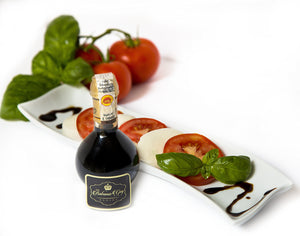 Balsamic Vinegar of Modena Traditional 25 year old DOP certified. Aceto Balsamico Tradizionale Extra Vecchio from Villa Ronzan The Balsamic Guy. On Sale Now. - Vancelette Global Art Acquisitions