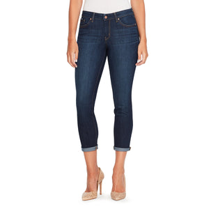 Jessica Simpson Women's Plus Size Forever Rolled Skinny, Royal, 14W - Vancelette Global Art Acquisitions