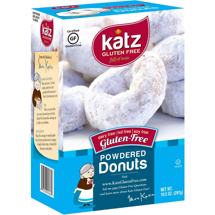 Katz Gluten Free Powdered Donuts | Dairy, Nut, Soy and Gluten Free | Kosher (6 Packs of 6 Donuts, 10.5 Ounce Each) - Vancelette Global Art Acquisitions
