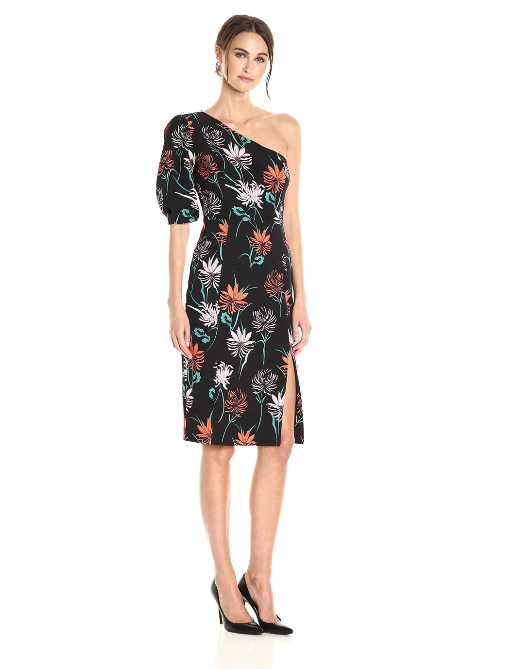Black Halo Women's Beckham Sheath Dress, Quill Mums, 12