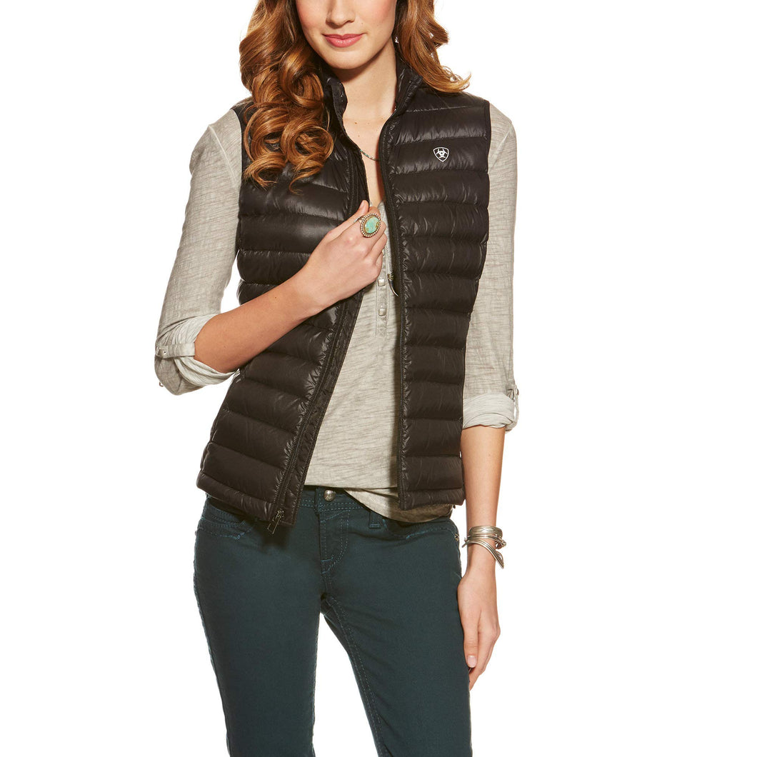 Ariat Women's Ideal Down Vest, Black, XX-Large