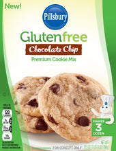 Pillsbury Gluten-Free Chocolate Chip Premium Cookie Mix, 17.5 Ounce (Pack of 12) - Vancelette Global Art Acquisitions
