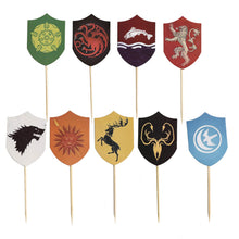 Game of Thrones Cupcake Topper GOT Cake Picks Decoration for Baby Shower and Birthday Party Favors, Set of 27 - Vancelette Global Art Acquisitions
