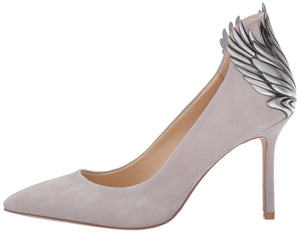 Katy Perry Women's The The Starling Pump, Grey, 8.5 Medium US - Vancelette Global Art Acquisitions