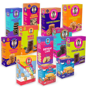 Goodie Girl Cookies, Chocolate Creme Sandwich Gluten Free Cookies, Peanut Free Cookies (7oz Box, Pack of 3) - Vancelette Global Art Acquisitions