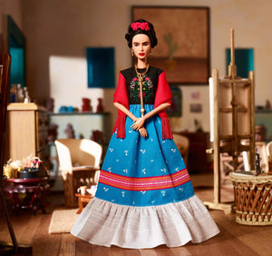 Barbie Inspiring Women Frida Kahlo Doll - Vancelette Global Art Acquisitions