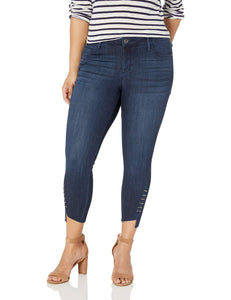 Skinnygirl Women's The Skinny Ankle in Injeanious Stretch Denim, Archipelago-Twisted Side Seam, 30 - Vancelette Global Art Acquisitions