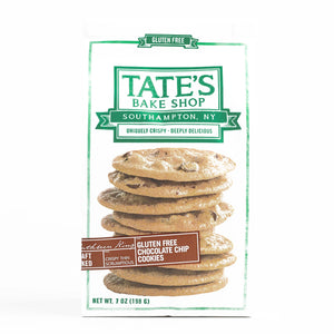 Tate's Bake Shop Gluten Free Chocolate Chip Cookies 7 oz each (1 Item Per Order, not per case) - Vancelette Global Art Acquisitions