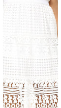 Diane von Furstenberg Women's Tiana Skirt, White, 6 - Vancelette Global Art Acquisitions