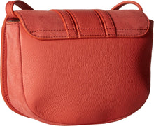 See by Chloe Women's Hana Small Leather Crossbody Bag Wooden Pink One Size - Vancelette Global Art Acquisitions