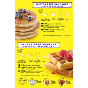 Betty Crocker Bisquick Baking Mix, Gluten Free Pancake and Waffle Mix, 16 Oz Box - Vancelette Global Art Acquisitions