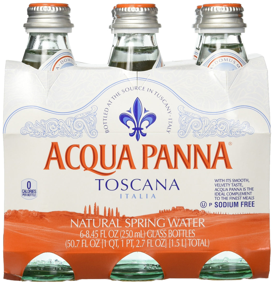 Acqua Panna Still Natural Mineral Water (6x250ml) - Vancelette Global Art Acquisitions
