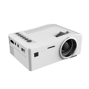 UNIC 18 LED Mini Portable 400 Lumen Projector Full HD 1080P 320 x 180 Resolution Home Theater Cinema