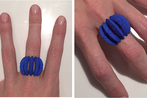 Constellation Ring | Lunar Moon COLOR|CODE | Yves Klein Blue! - Vancelette Global Art Acquisitions