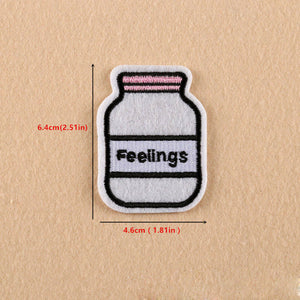 "Bottled Feelings Sticker used to ""stick up anything from your handbag to IPHONE in style"