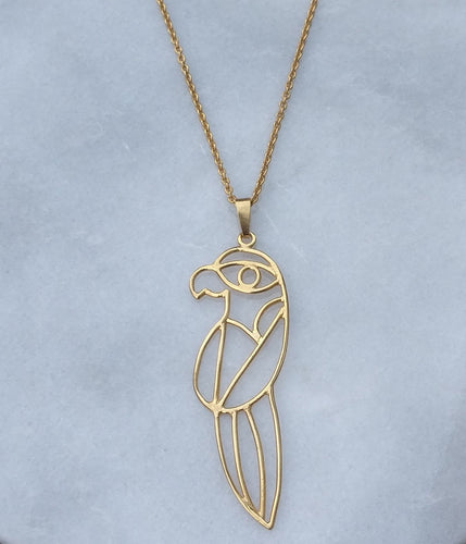 ROSA Necklace - Goldplated Sterling Silver (925s)