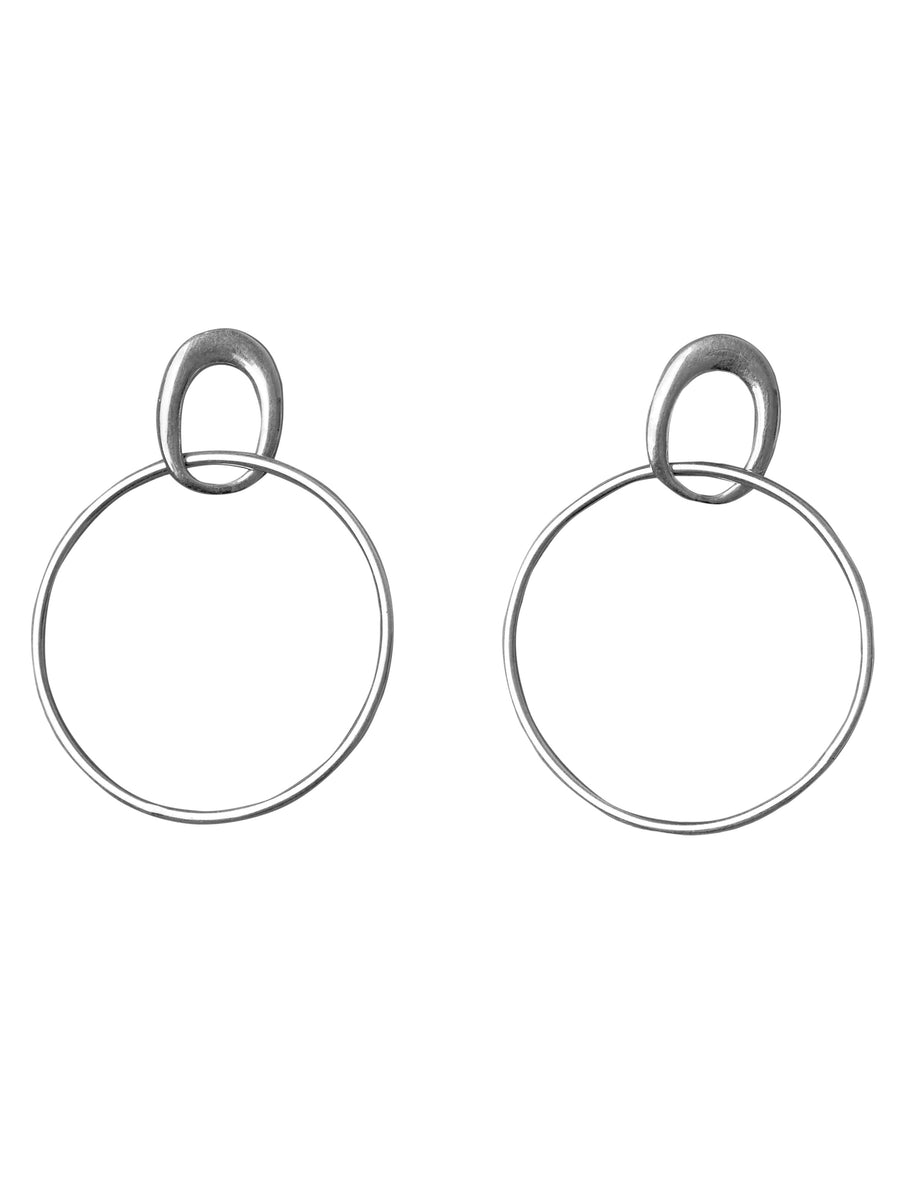 Organic Shapes - Hoop earrings