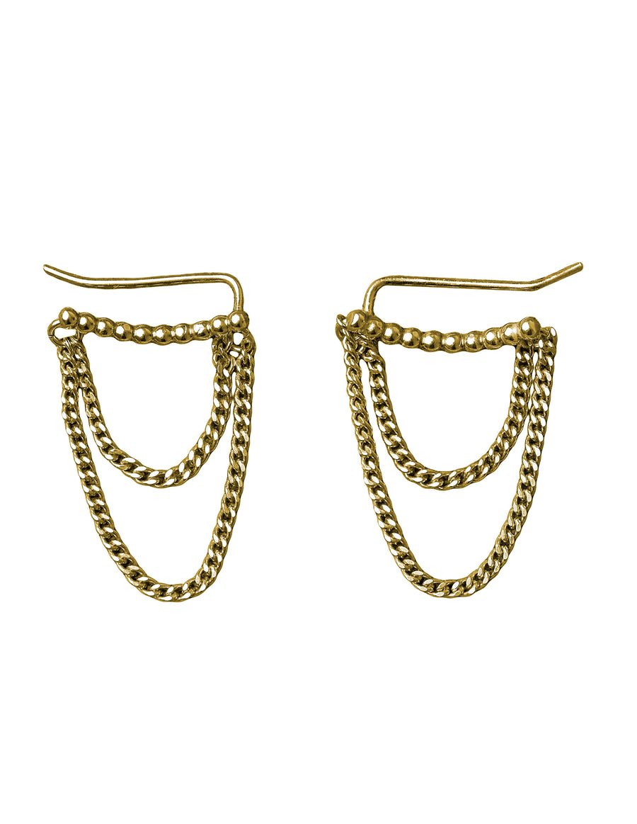 Chain Slider - Earrings