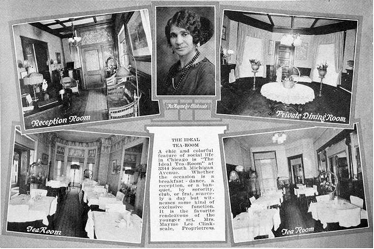 Tea History: Black-run Tea Rooms in the 1920s and 1930s