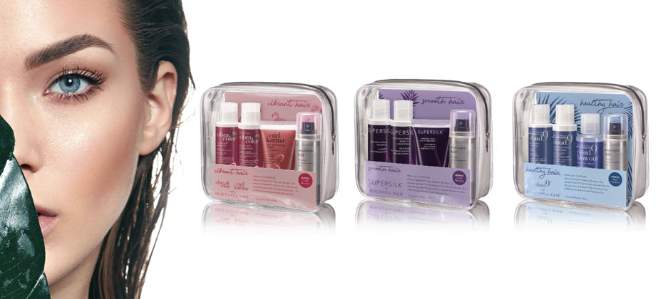 NEW LAUNCH! 3 New Travel Kits To Keep Your Hair On Point.