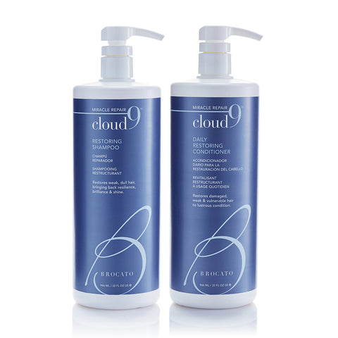 Cloud 9 Restoring Shampoo & Conditioner Liter Duo