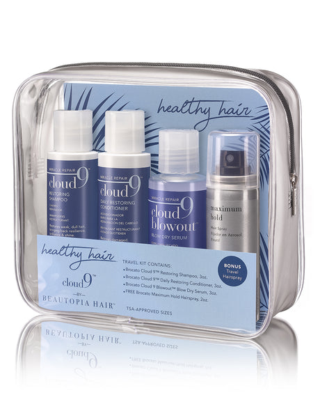 Cloud 9 Healthy Hair Travel Kit
